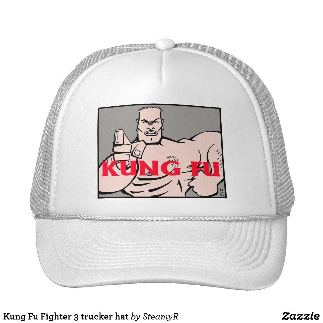 Kung Fu Fighter 3 trucker hat