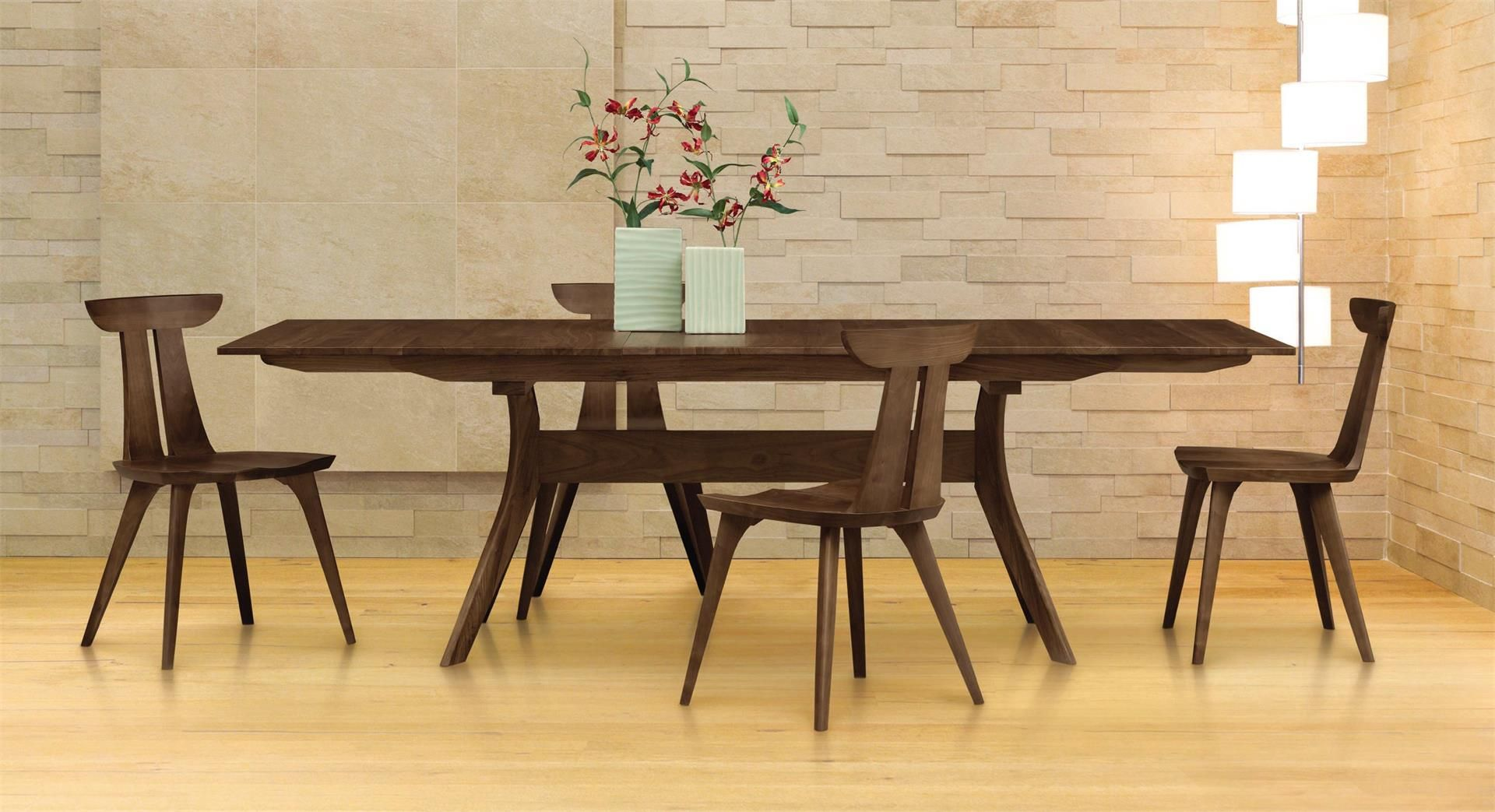 Copeland furniture audrey extension dining table
