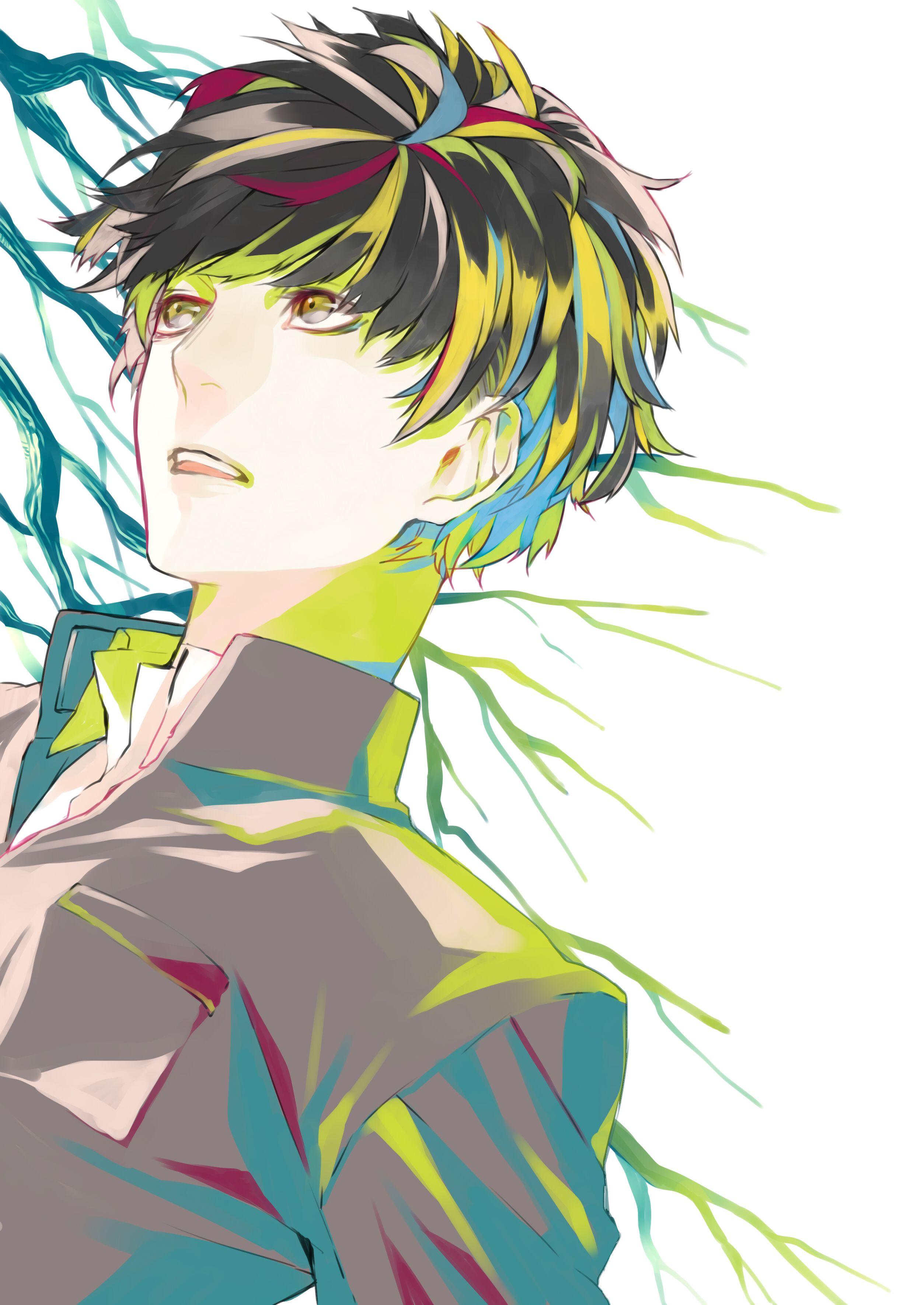 Tags Applepiefasna Multi Colored Eyes Anime Art Anime Anime Boy