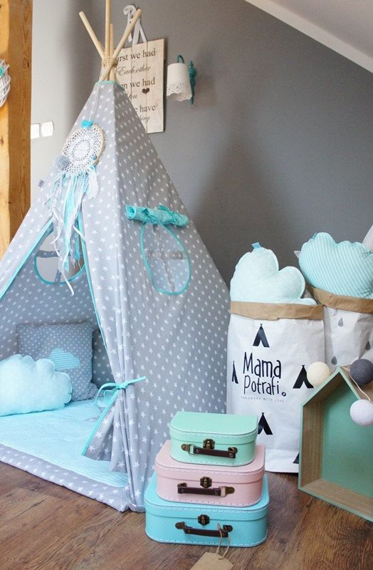 Teepee set Imaginary Friend takes you to the wonderland of fun, joy and happiness. It can be a place for morning tea with mum, daily play with