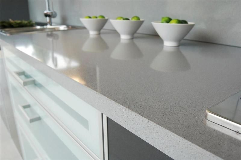 Santamargherita 39 s carnia quartz kitchentop beautifully resists abrasion and acids you can find - Quarzite piano cucina ...