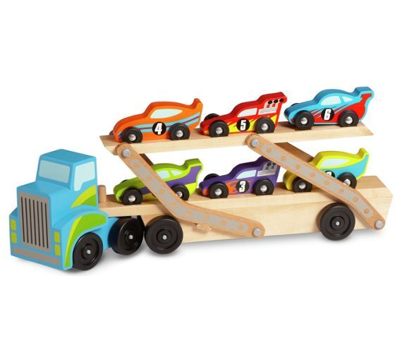 buy melissa and doug jumbo race car carrier at argoscouk visit argoscouk to shop online for toy cars vehicles and sets toy cars trains