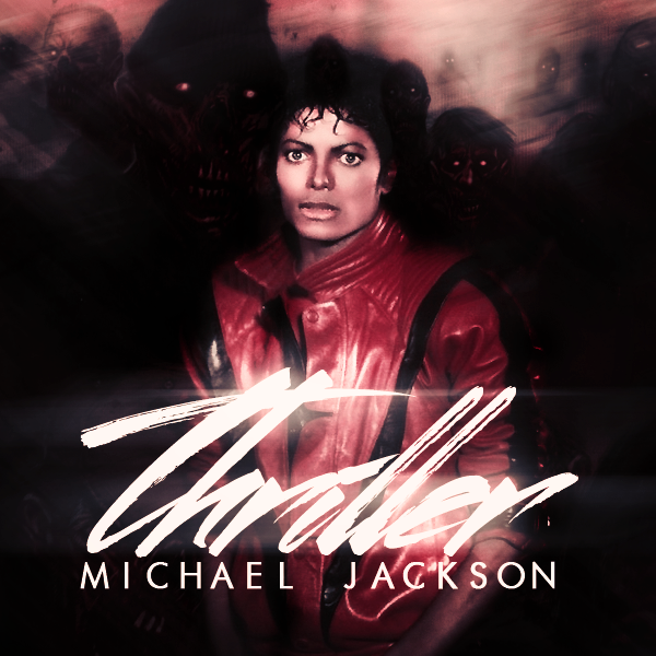Michael Jackson Thriller Fanmade Cover By Marujamferri Michael Jackson Thriller Album Art Michael Jackson