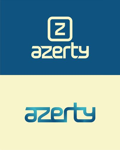 azerty, it logo, it logos, it shop, pc, electronic, pc components, it, shop, logo design