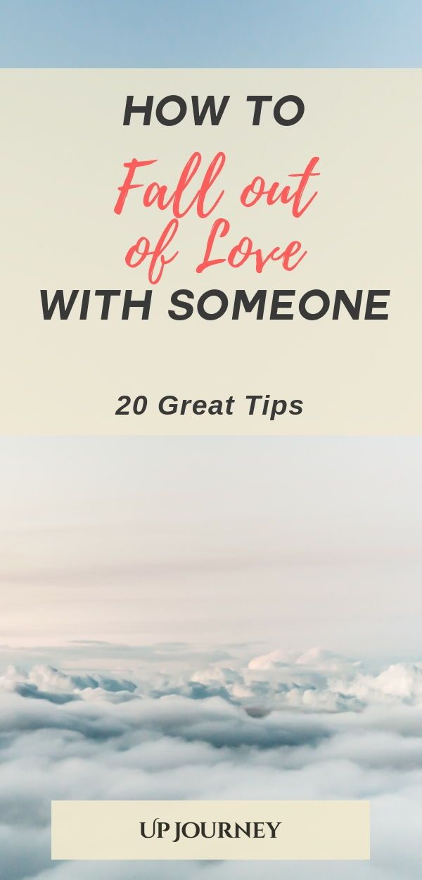 How to Fall out of Love with Someone (20 Great Tips