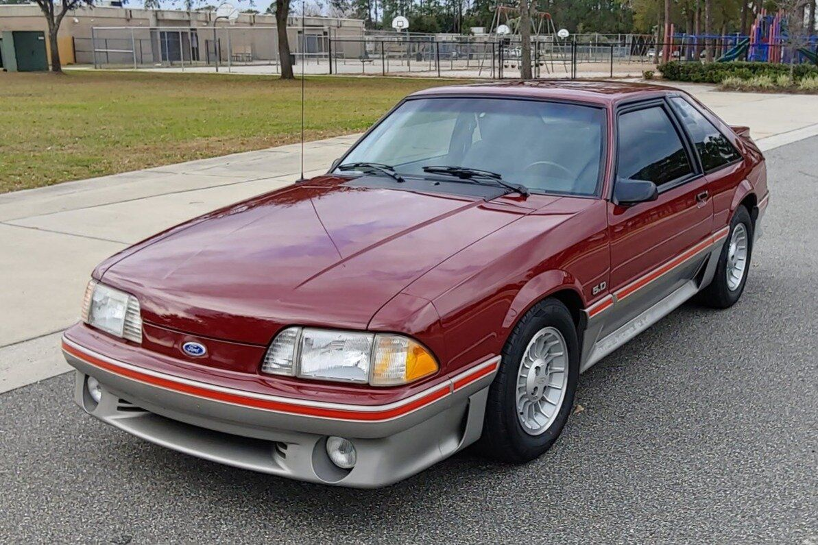 For Sale 1988 Ford Mustang Gt 5 0l V8 5 Speed 28k Miles