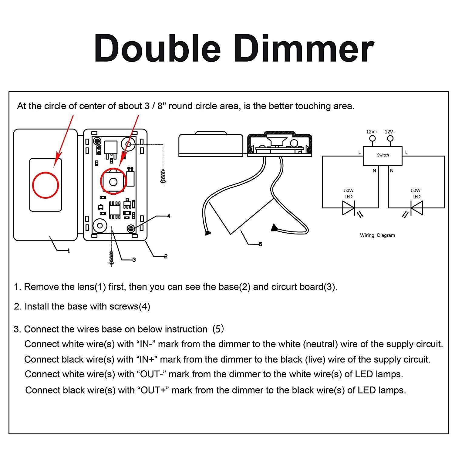 New Wiring Diagram Double Dimmer Switch Diagram Diagramtemplate Diagramsample