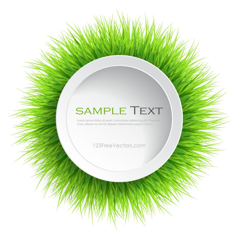 Circle Grass Frame | Pinterest