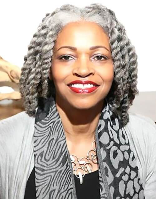 Hairstyles For Black Women Over 60 New Natural Hairstyles Beautiful Gray Hair Natural Hair Styles Natural Gray Hair