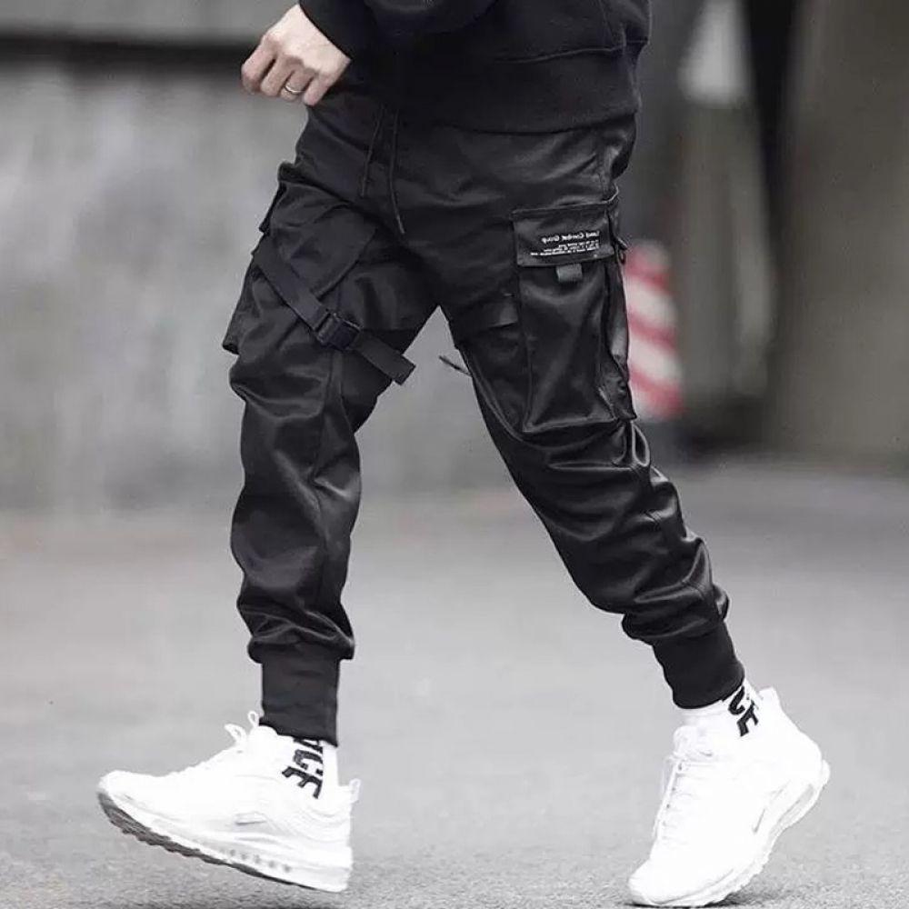 Pants Trousers Streetwear Sweatpants Hombre Male Casual Fashion Cargo Pants  Men   Pantalones de hombre moda, Ropa de hombre casual elegante, Ropa  urbana hombre