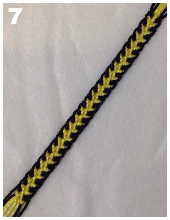 tutorial friendshipbraceletsnet dragon tail