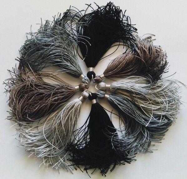 I  tassels! #juniiq #jewelry #handmade #tassels #Quasten #juniiqjewelry