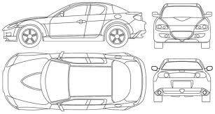 Ejemplo De Dibujo Descriptivo Carros Auto Desenho