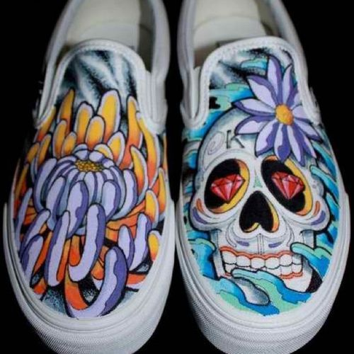 Cool Vans Shoes Designs | Tattoo Design Sharpie Art Shoes ...