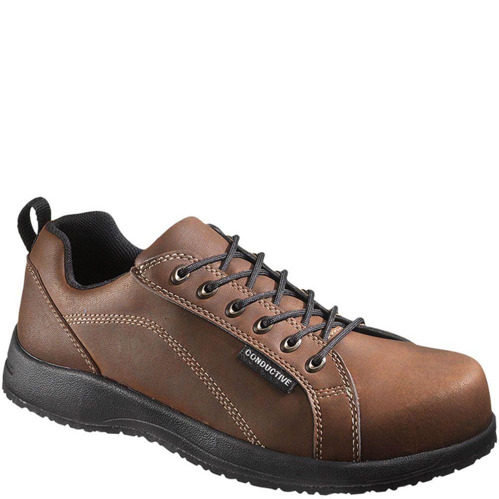 10371 hytest unisex conductive safety shoes black