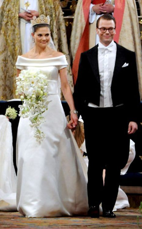 Crown Princess Victoria Of Sweden From The Best Royal Wedding Dresses Of All Time Princess Victoria Royal Wedding Dress Princess Bride