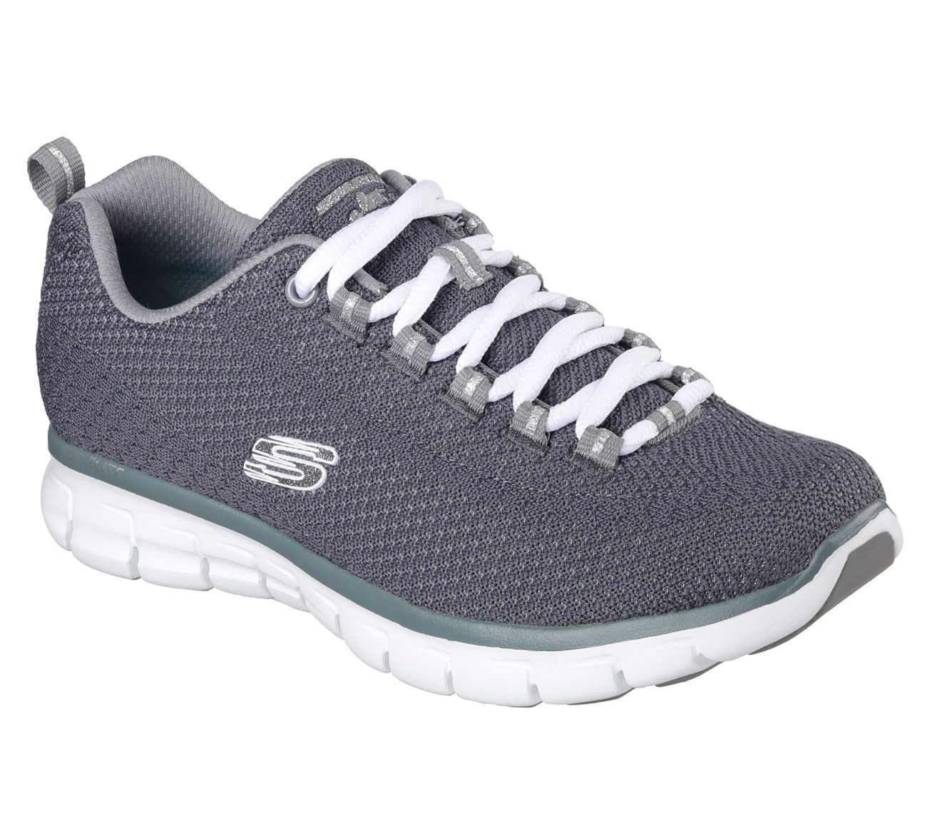 e846158a8f0 Skechers 11972 GRY SYNERGY-SAFE AND SOUND Walking