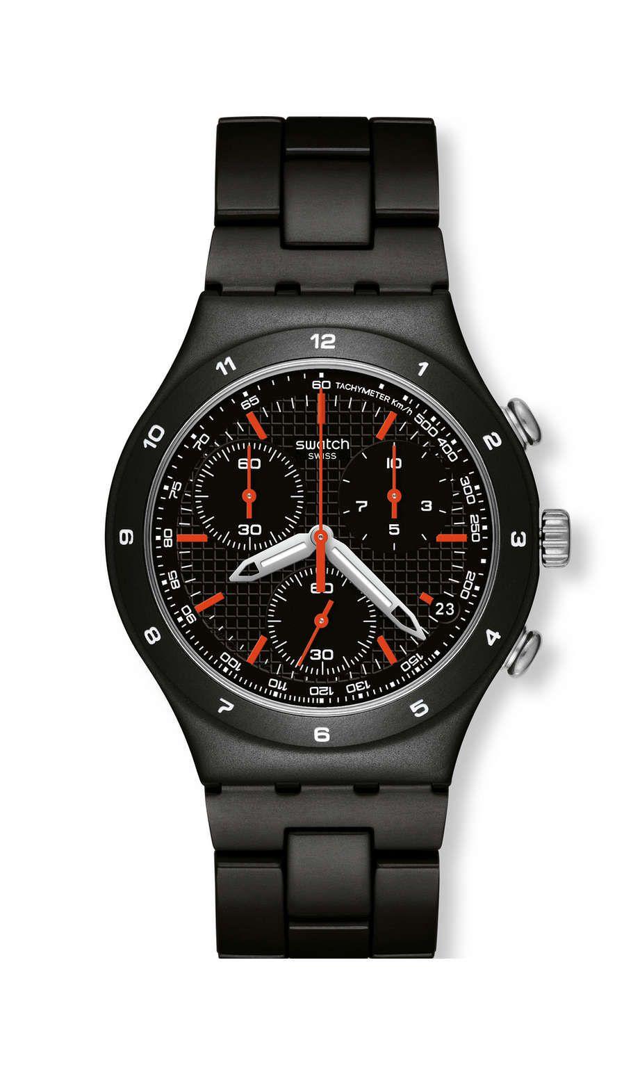 9918fc59ea7 BLACK COAT (YCB4019AG) - Swatch International Swatch