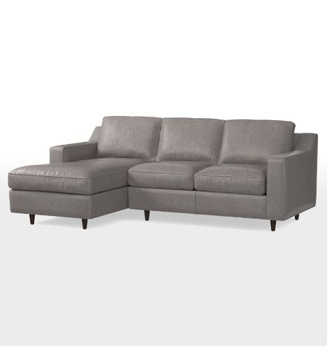 Garrison Small Chaise Sectional Leather Sofa Small Sectional Sofa Sectional Sofa Sectional