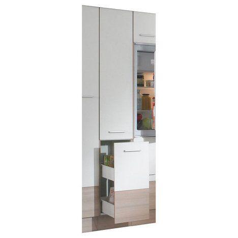 Apothekerschrank PINA - Pinie-Magnolie - 200 cm hoch küche - apothekerschrank für küche