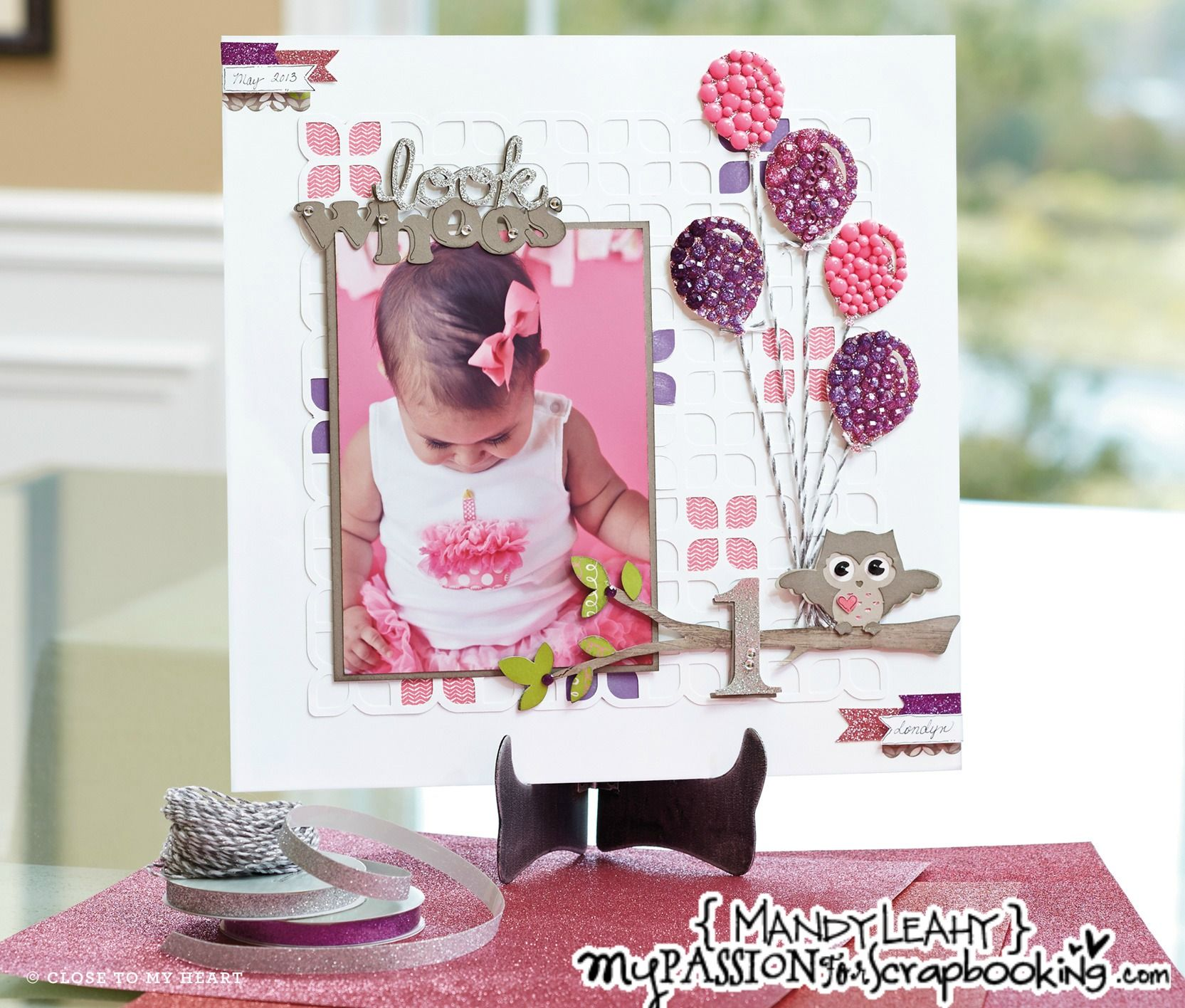 Click on this pic to find out how you can make this Scrapbook Layout featured in the 2014 CTMH Spring/Summer Idea Book.