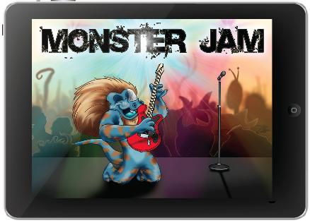 Monster Jam Rock & Roll App | cool apps | Pinterest