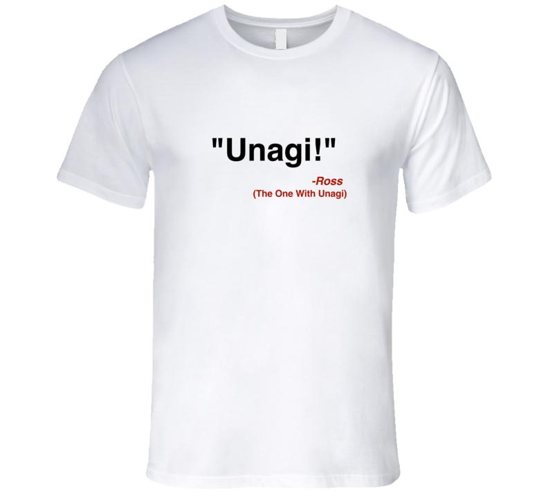 fd03550b Unagi Ross Geller t-shirt Friends quote tshirt funny friends tv show t shirt