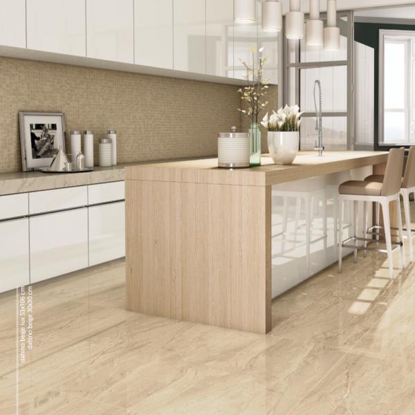 Porcelanato beige dise o pinterest beige pisos y for Tipos de marmol para cocina