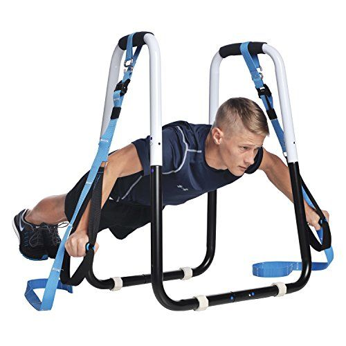 Ultimate Body Press Dip Bar And Bodyweight Resistance Trainer Package Start Dominating At Home Gym No Equipment Workout Planet Fitness Workout