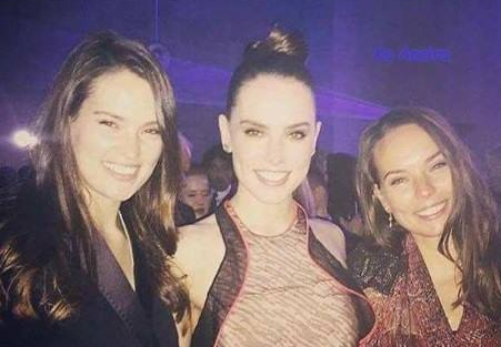 Daisy Ridley & her sisters, Kika and Poppy (With images