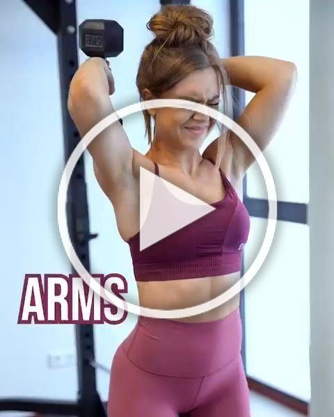 Push it! Sophie (@gainsbybrains) brings you this super tough upper body workout, to train you to you...