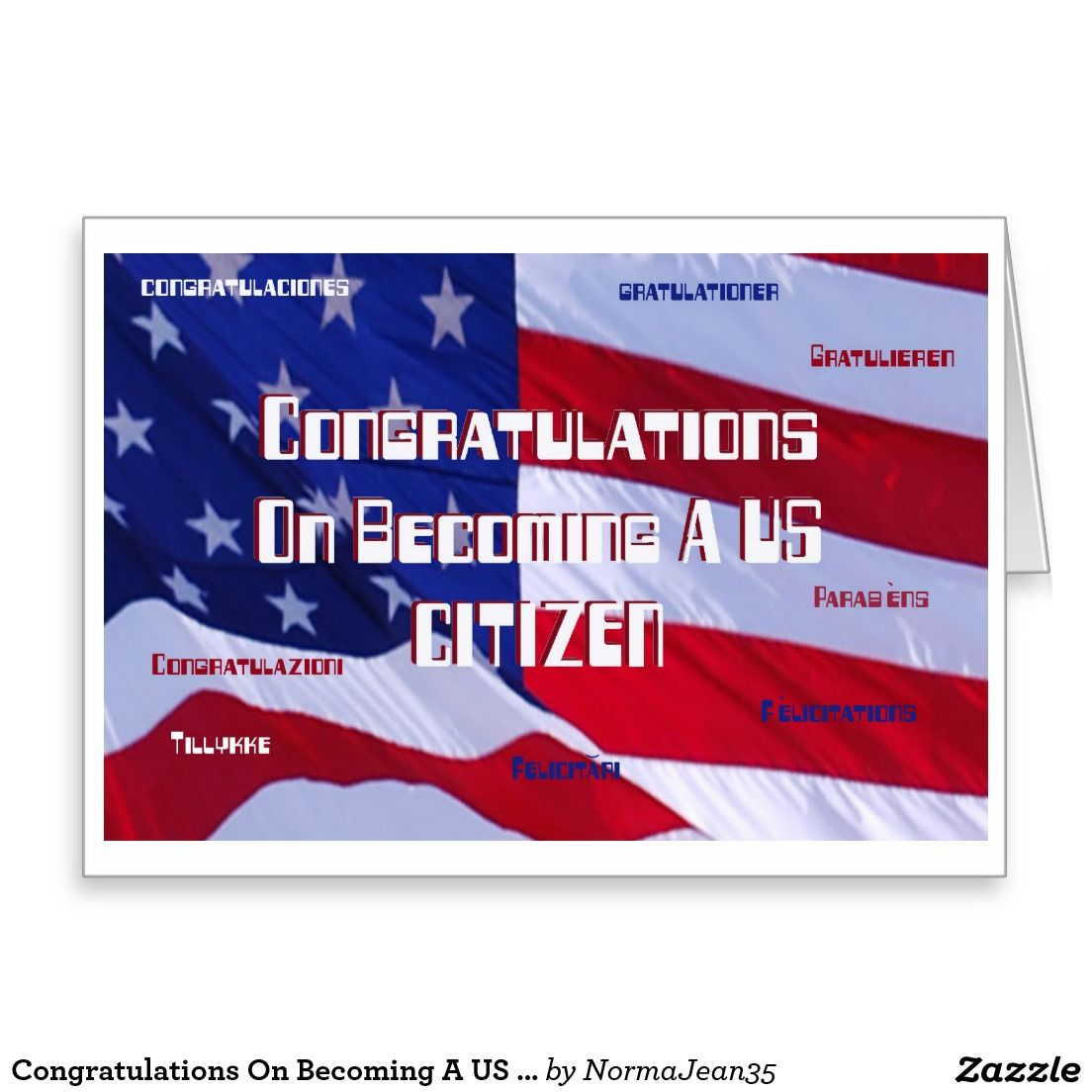 congratulations on becoming a us citizen card new u s citizen