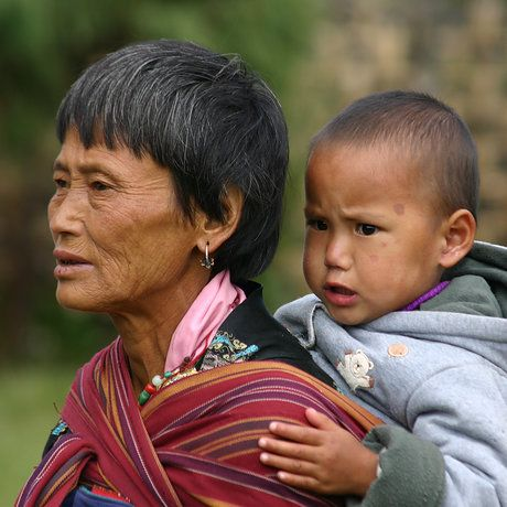 #Mother and Child#BHUTAN