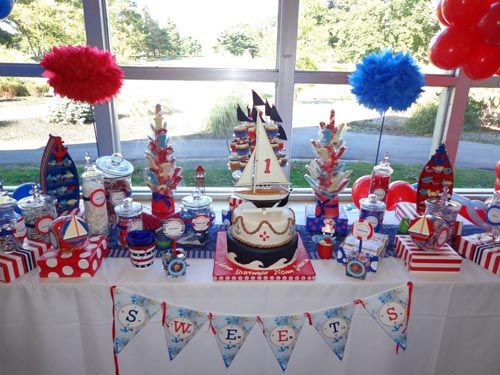 nautical theme baby shower index of themed