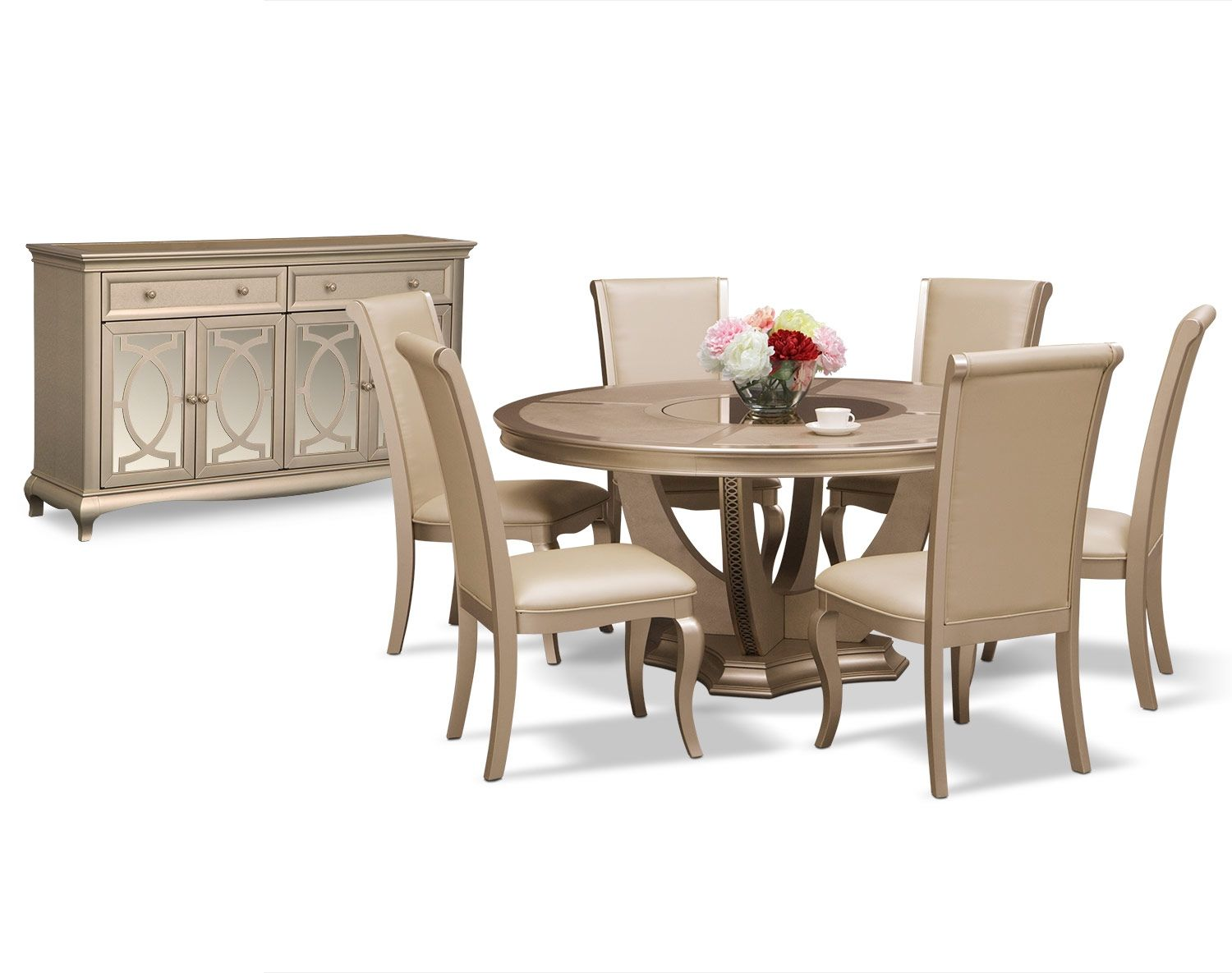 The Allegro Collection Round Dining Room Dining Room Furniture Dining Furniture Sets
