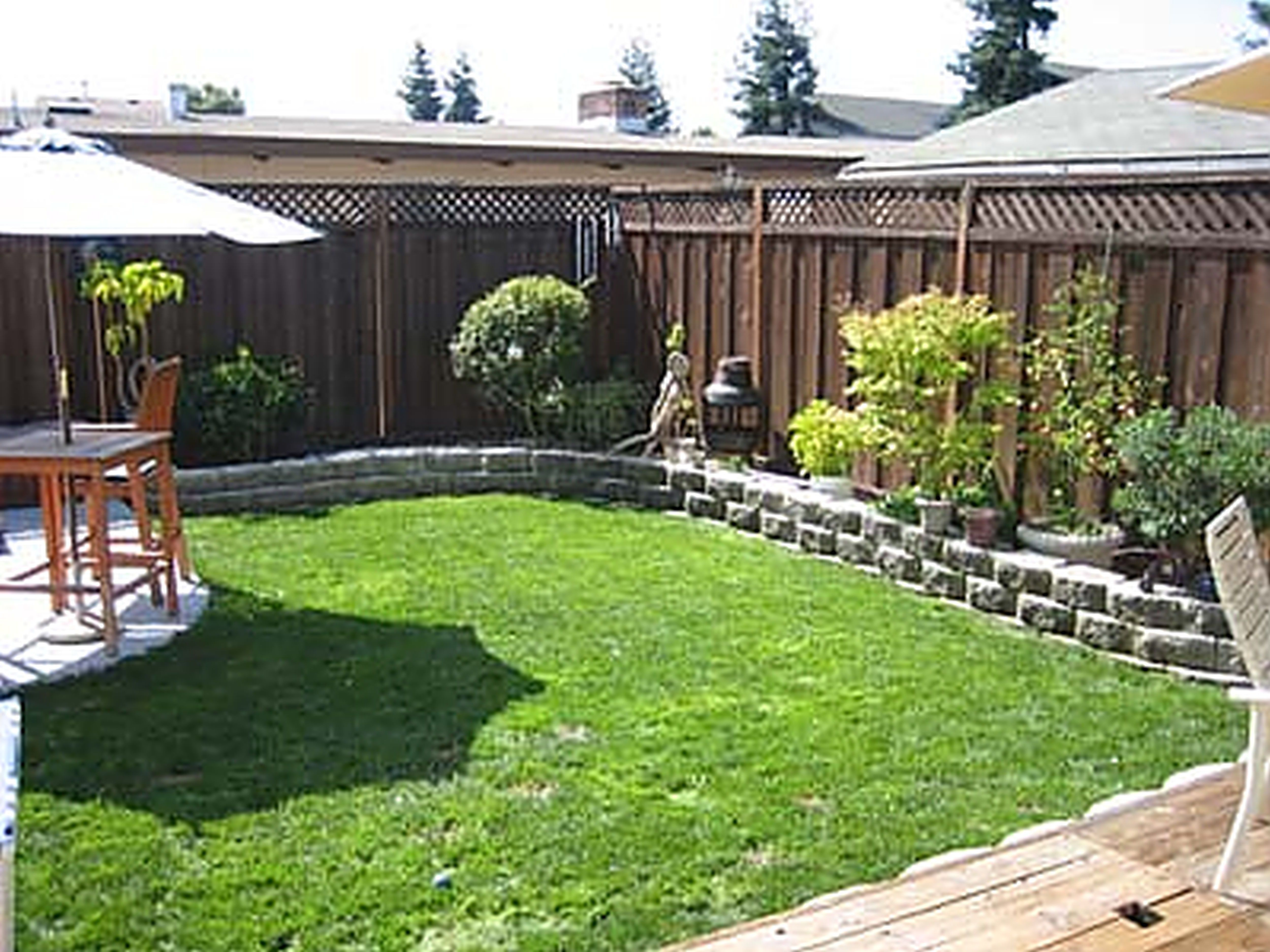 Yard landscaping ideas on a budget small backyard for Yard landscaping ideas