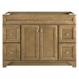 Diamond Hanbury Tuscan Traditional Poplar Bathroom Vanity Common 48 In X 21 In Actual 48 In