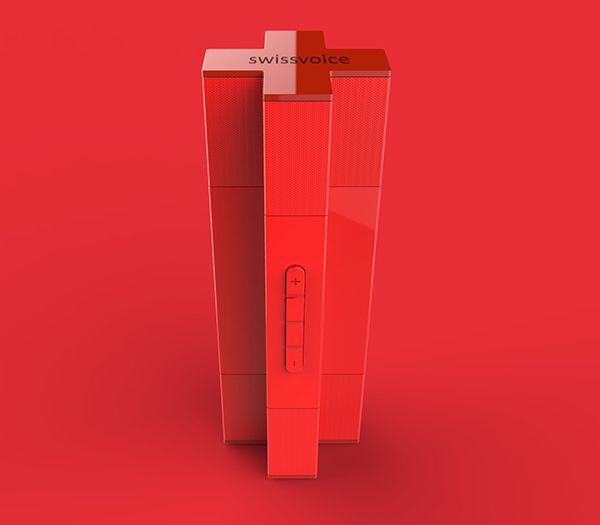 SV/BS Swissvoice Bluetooth Speaker | Designer: Anton Ruckman