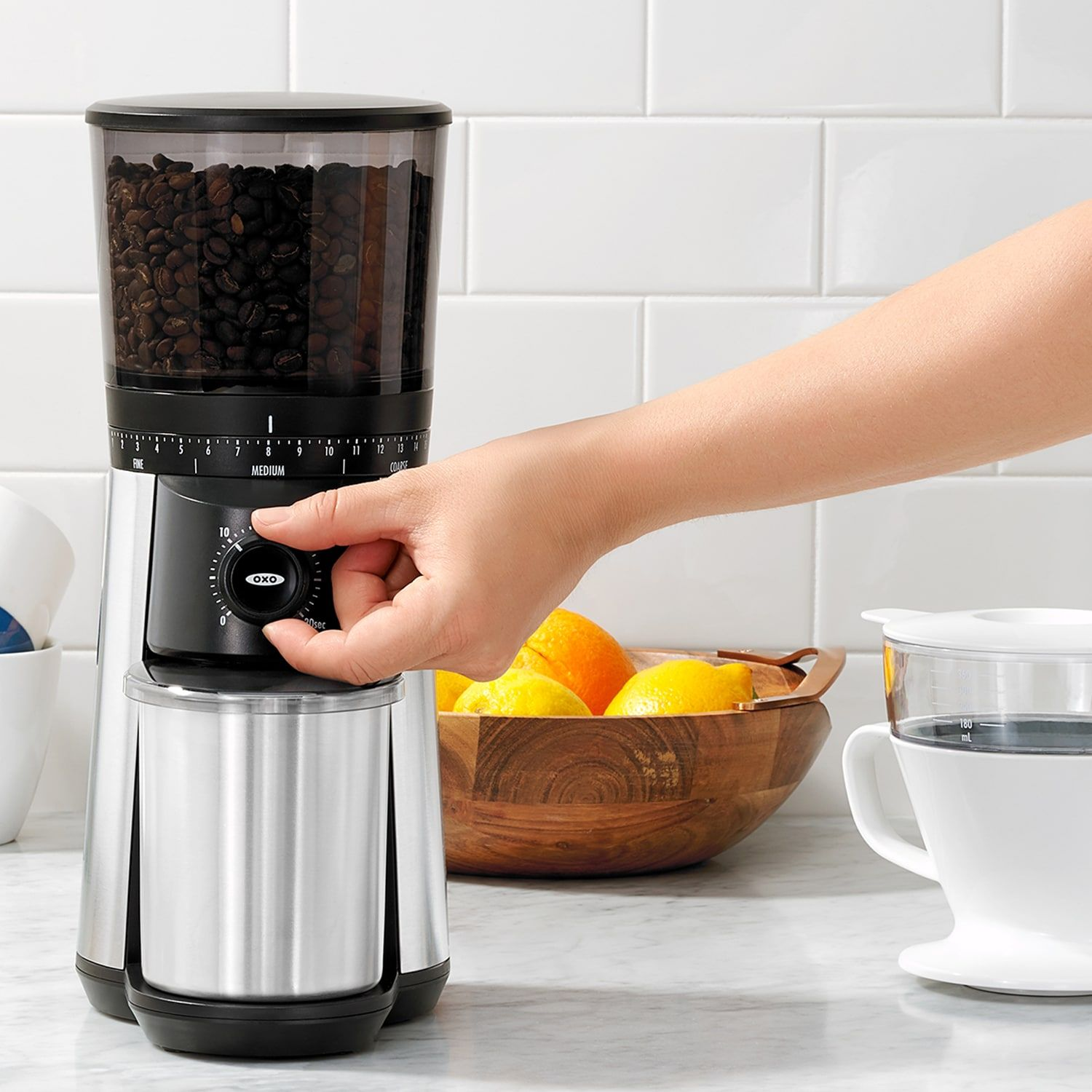 OXO Conical Burr Coffee Grinder Conical, OXO, Burr,