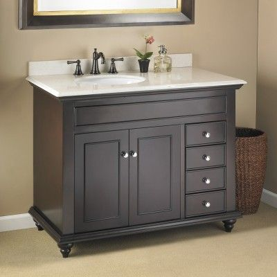 30 Inch Bathroom Vanity Single Sink Cabinets Furniture