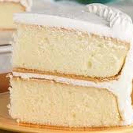 Classic White Cake Layers Baking Pinterest Cake Layers White