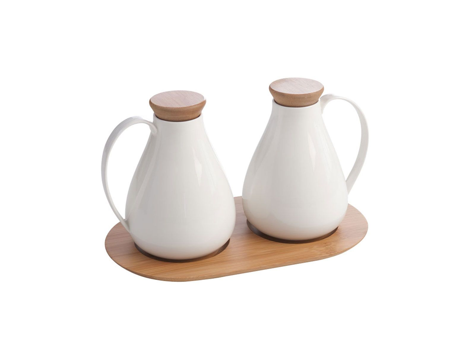 set of 2 oil vinegar bottles on tray ciroa homewares bottle bowl set homeware on kitchen organization oil and vinegar id=97626