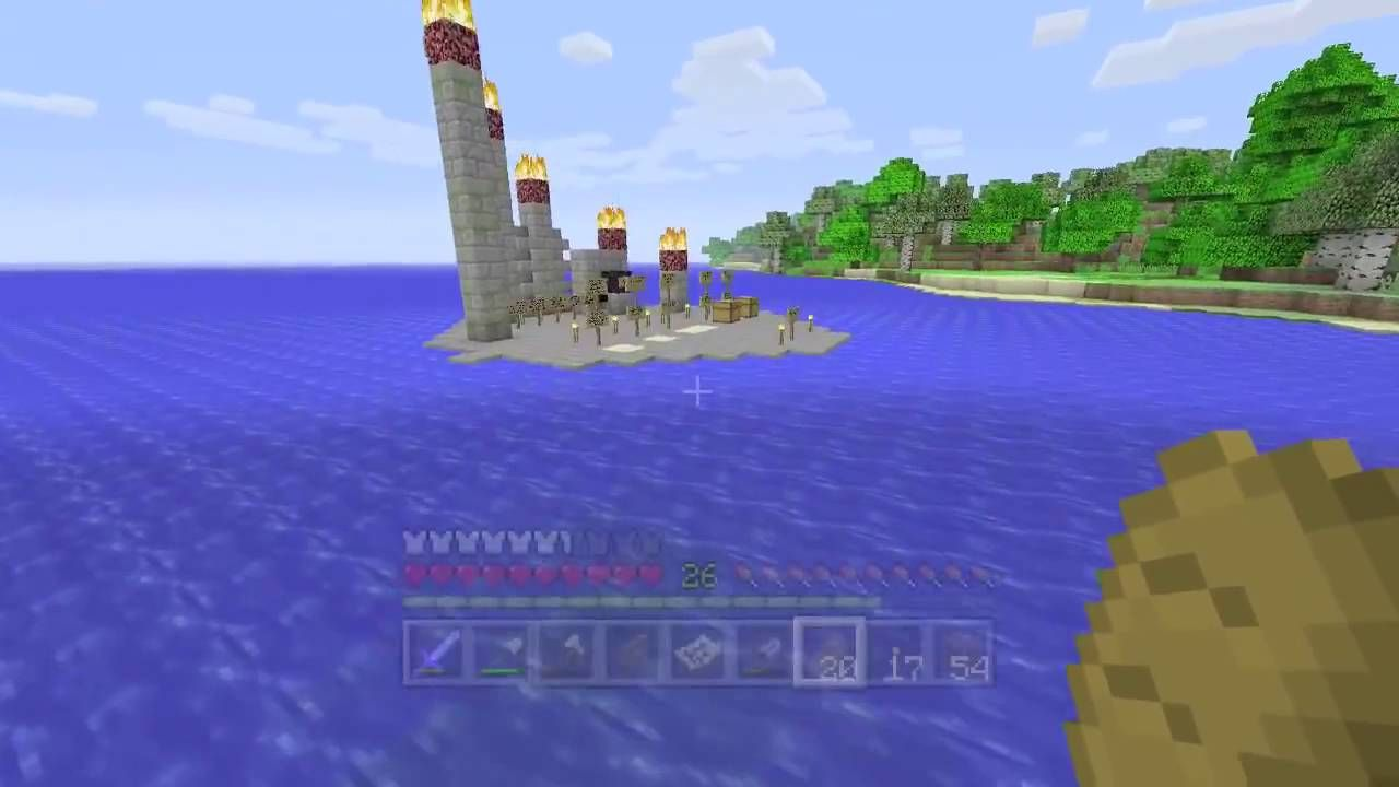 Series-Minecraft Xbox  Quest To Find The Floating House