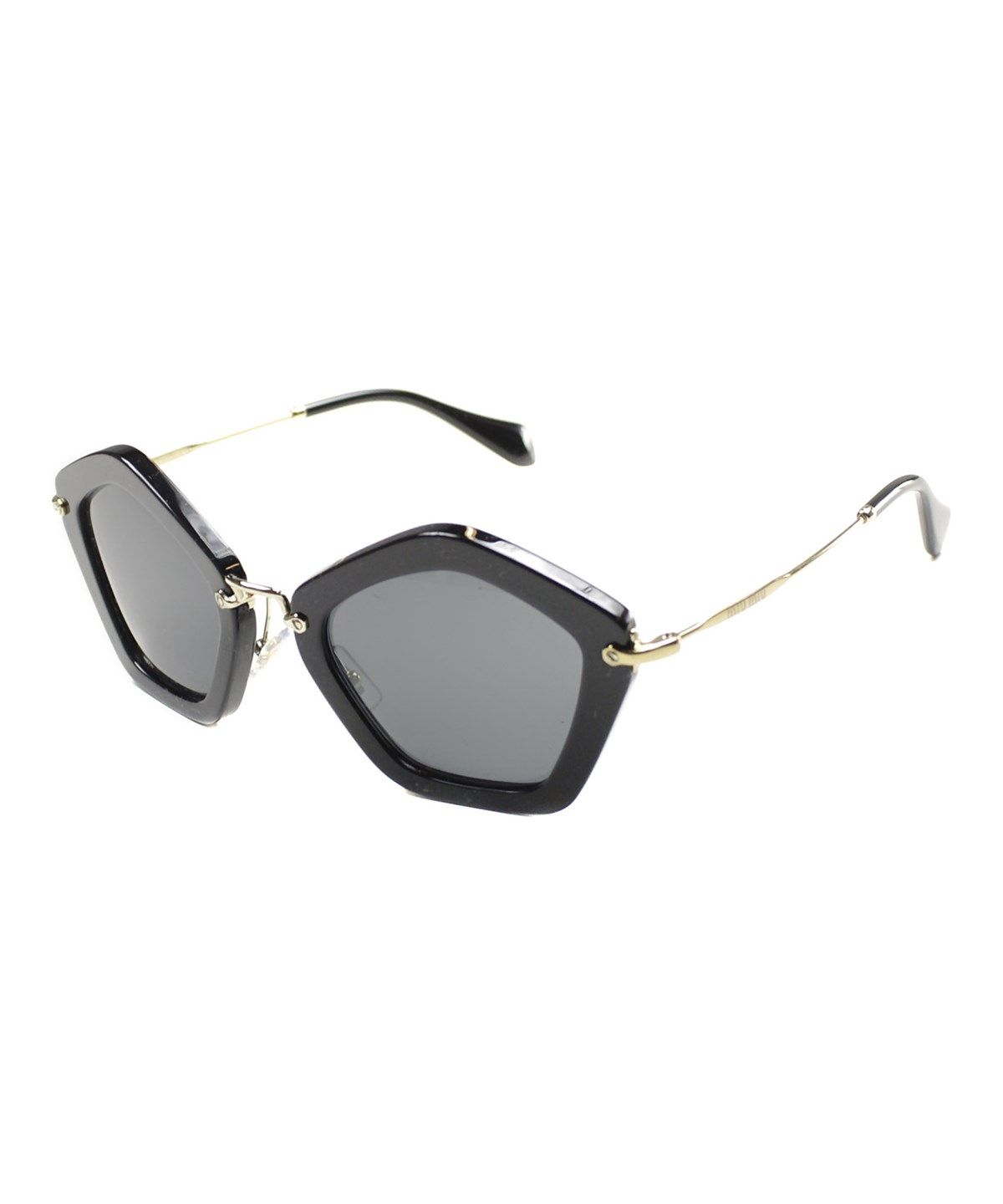 round-frame sunglasses - Black Fendi