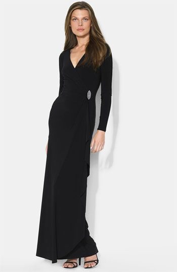 Black Long Sleeve Dressy Dresses