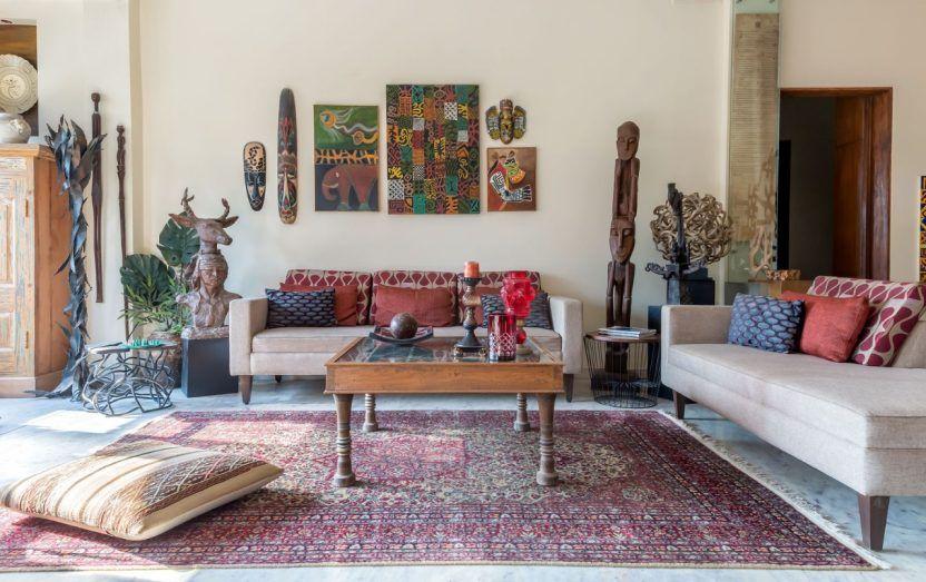 An Interior Designer S Earthy Indian Apartment In Mumbai Earthy