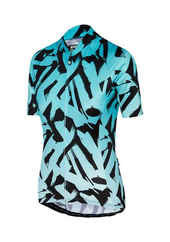 Core Brush Jersey Teal Fade Cycling Jersey Attaquer - 1  b203e6697