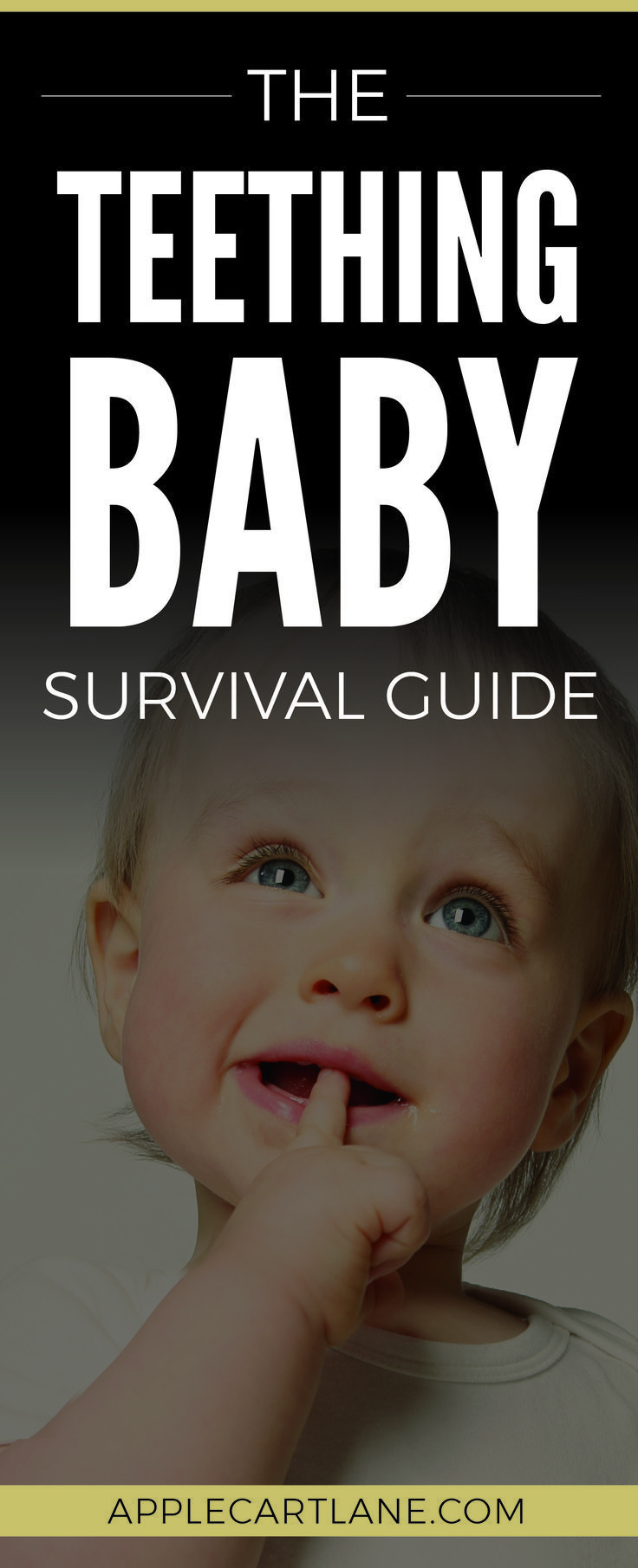 A child teething: survival instruction for parents
