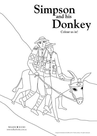 Simpson And His Donkey - Books - Welcome to Walker Books Australia ...