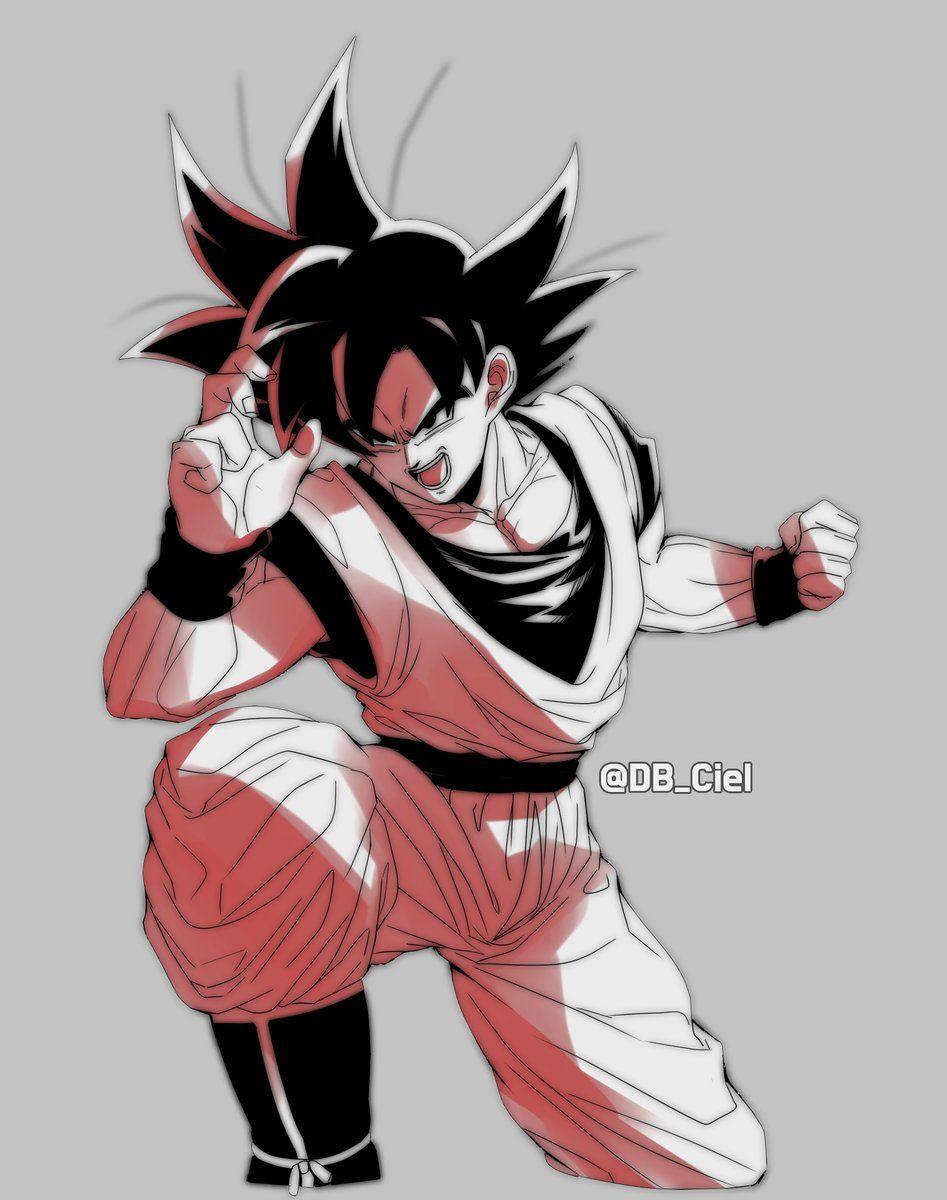 Base Goku Warming Up For Some Nut Busting Action Anime Dragon Ball Dragon Ball Z Dragon Ball Super